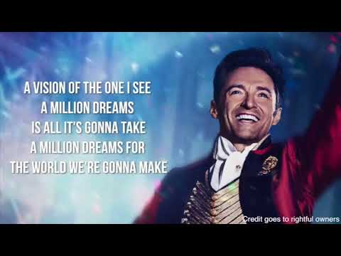 "A Million Dreams - Ziv Zaifman, Hugh Jackman & Michelle Williams - ""The Greatest Showman"""