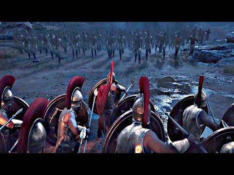 Assassin's Creed Odyssey - Opening Cinematic (300 Spartans Leonidas Scene) thumbnail