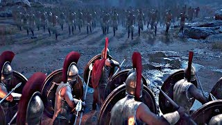 Assassin's Creed Odyssey - Opening Cinematic (300 Spartans Leonidas Scene)