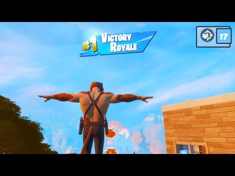 FORTNITE First Win With