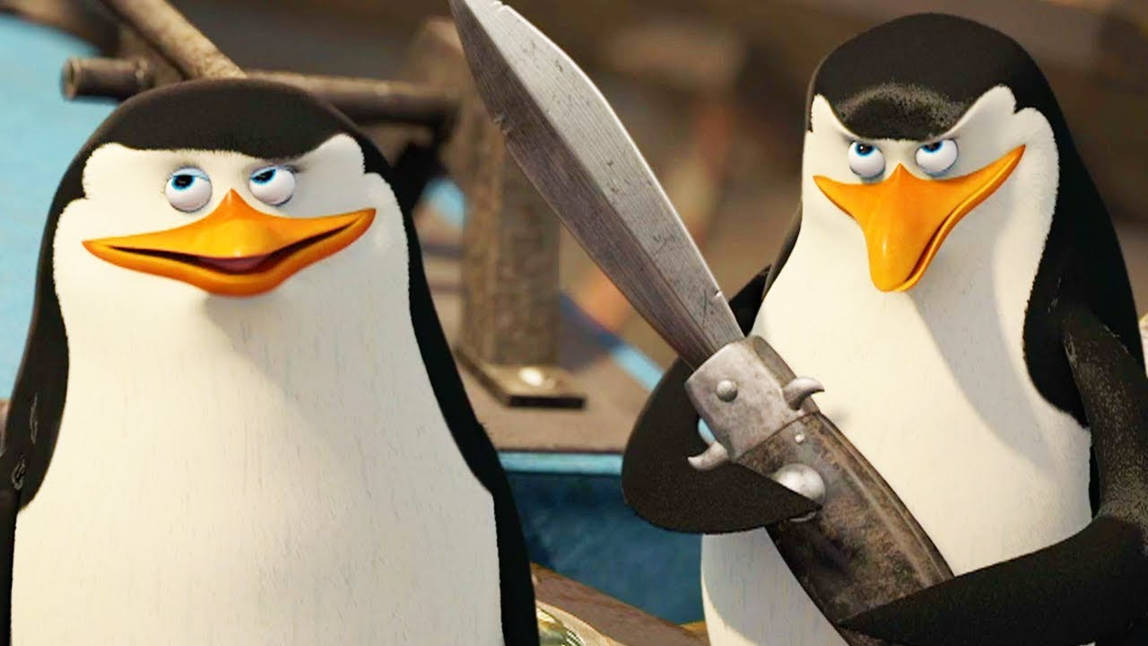 DreamWorks Madagascar | Who Says a Penguin Can't Fly | Madagascar: Escape 2  Africa | Kids Movies