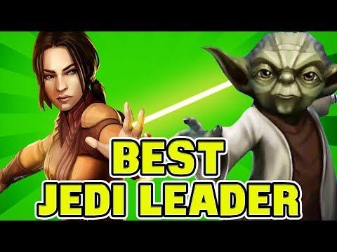 Best Jedi Lead vs. Traya and Palpatine? Bastila Shan or Yoda? | Star Wars: Galaxy of Heroes