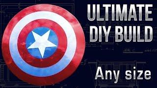 Make a Captain America Shield - MK1build