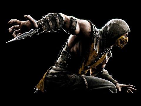 Драка в Mortal Kombat X в прямом эфире. Запись