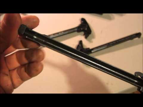 Strike Industries Extended Latch Charging Handle, Better Than BCM Gunfighter!?