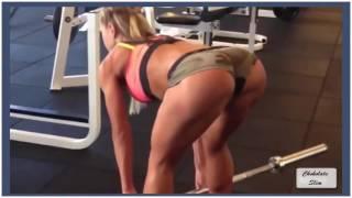 Шикарные девушки в бикини и фитнес!
