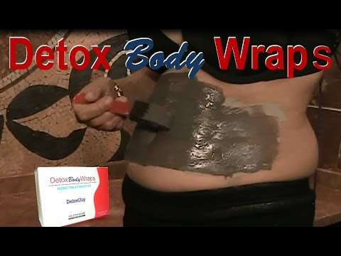 DIY Organic Detox Clay Body Wraps for Slimming is alternative to It Works