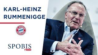 Rummenigge (FC Bayern): Der Mensch hinter dem Vorstandsvorsitzenden   SPOBIS 2019