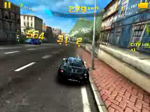 Asphalt 8 on samsung galaxy pocket plus gt-s5301