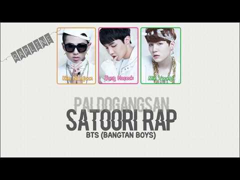 BTS (방탄소년단) - 'Paldogangsan/Satoori Rap (팔도강산)' LYRICS (Color Coded Han/Rom/Eng)