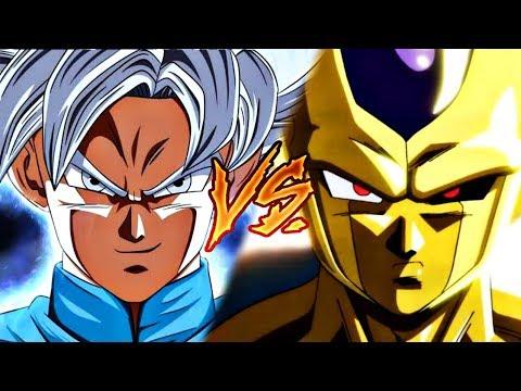 Grand Priest Goku VS Golden Metal Cooler | Power Levels