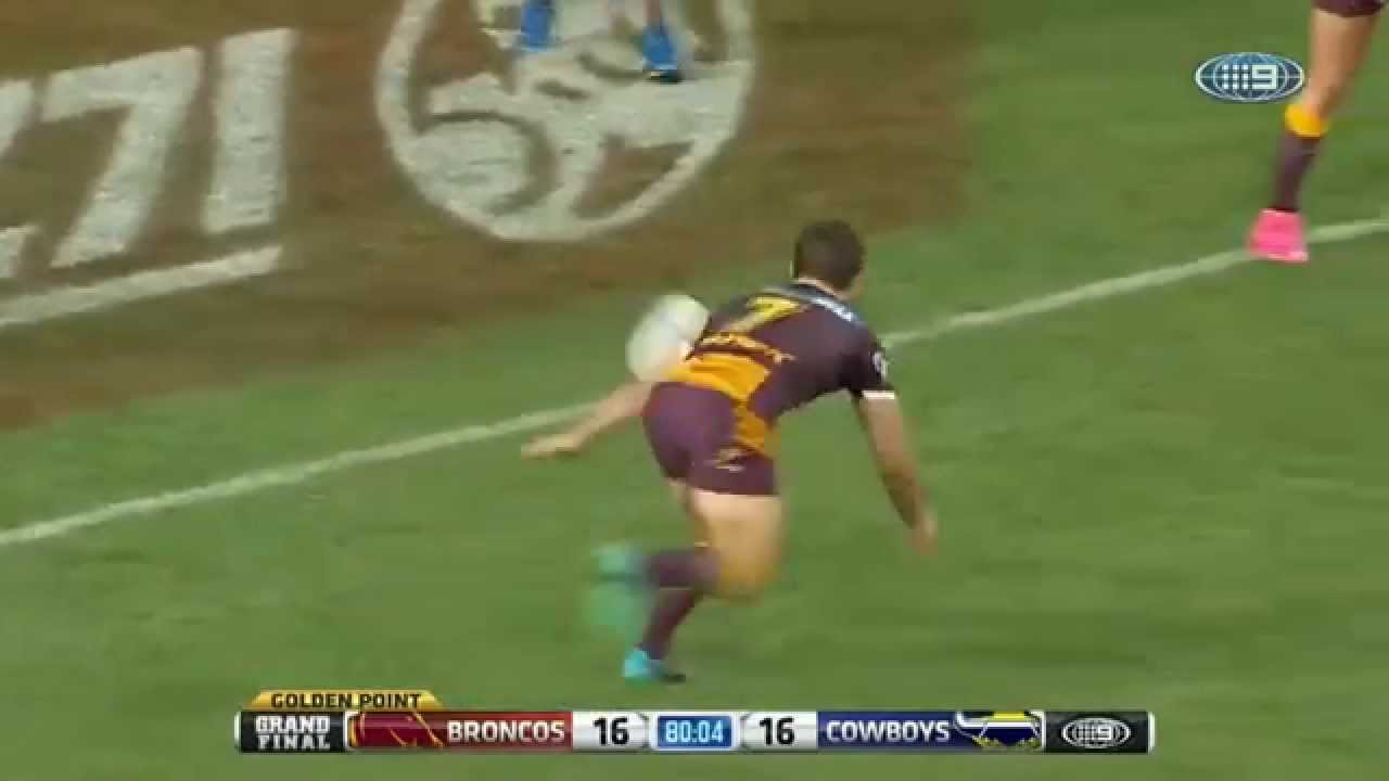 2015 nrl grand final Ben Hunt wasn't ...
