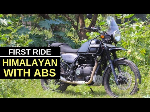 Royal Enfield Himalayan ABS : first ride review