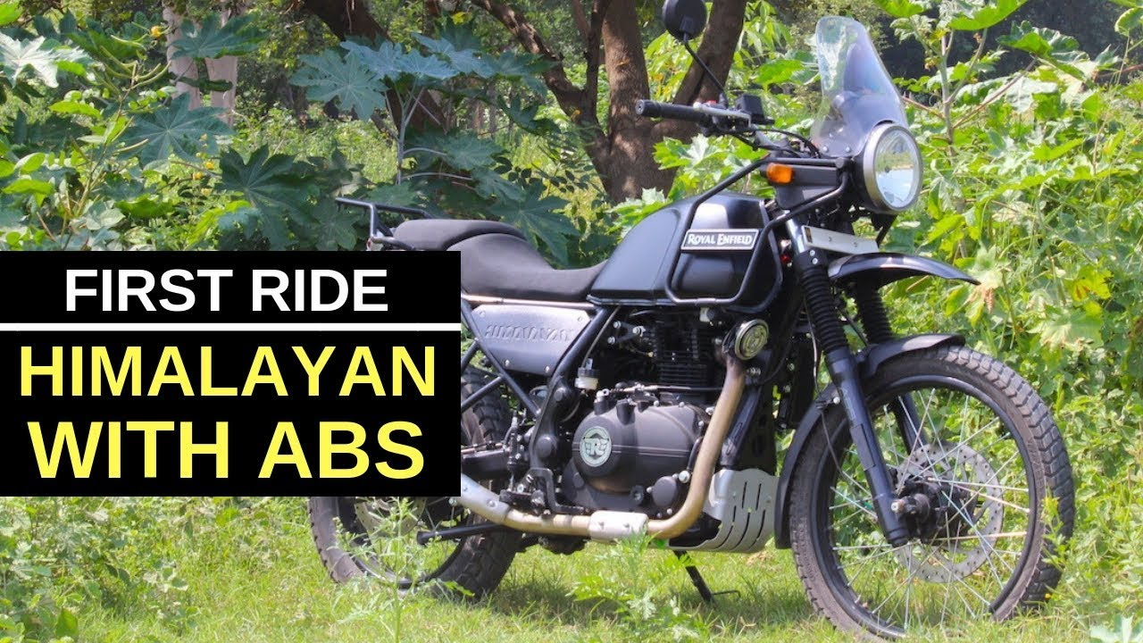 Royal Enfield Himalayan Abs First Ride Review Youtube
