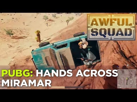 AWFUL SQUAD: Hands Across Miramar w/ Justin, Russ, Plante, Travis, Jenna and Technology Will Smith