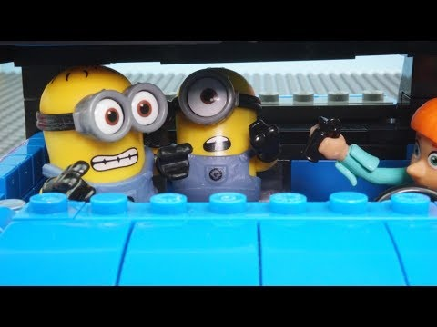 Lucy Captures Gru Stop Motion - Despicable Me 2