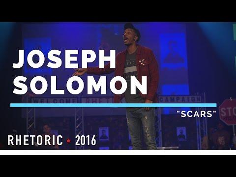 "RHETORIC 2016 | Joseph Solomon - ""Scars"""