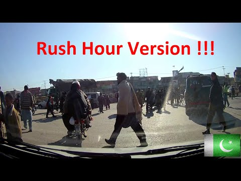 Typical Drive in Pakistan 2020 (Rush Hour version!) | Best of Dash-cam in Pakistan!