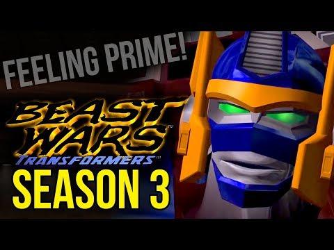Feeling Prime! | Beast Wars: Season 3 Three Review / Retrospective - Bull Session