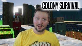 KAN VI OVERLEVE NATTEN? - Colony Survival Dansk Ep 1