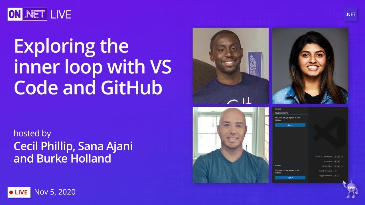 Exploring the Inner loop with VS Code and GitHub