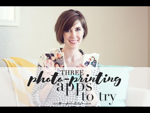 Three Photo Printing Apps To Try