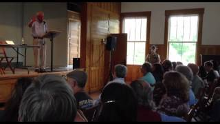"Bernie Sanders at Town Hall in Vermont; conflict between Israel and ""Palestinians"" in Gaza"