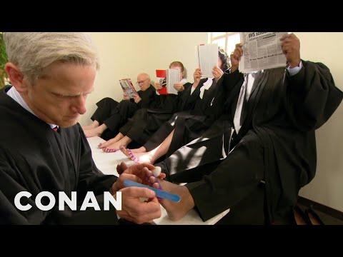 SCOTUS Is Still Hazing Neil Gorsuch  - CONAN on TBS