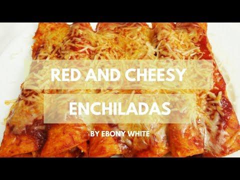 Mexican Red Sauce Chicken Enchiladas for Dinner