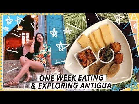 What To Eat & Do in Antigua | Caribbean Travel Vlog