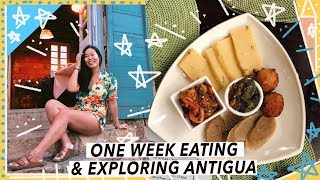 What To Eat & Do in Antigua   Caribbean Travel Vlog