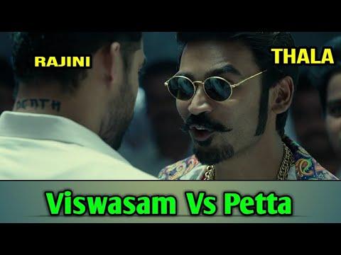 Viswasam vs Petta Clash Troll