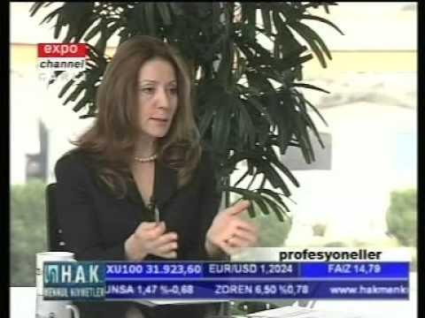 Expo Channel - Profesyoneller - Prof. Dr. Nilüfer Narlı - 14.10.2005