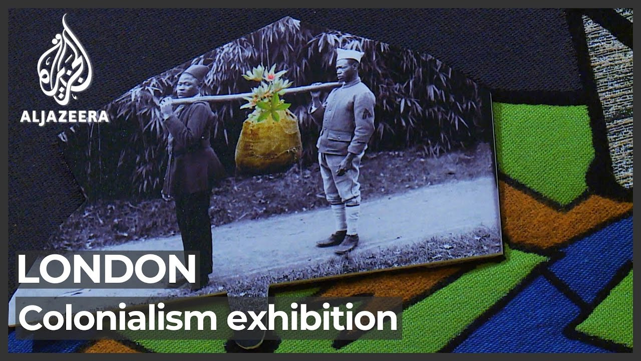 Download New colonialism exhibition in London exposes climate emergency role