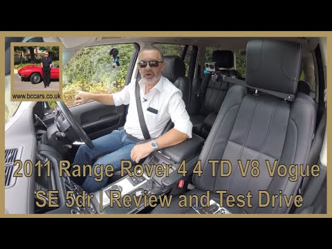 Review And Virtual Video Test Drive In Our 2011 Range Rover 4 4 TD V8 Vogue SE 5dr OV61XYZ