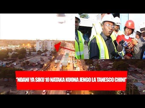 ''Ndani ya siku 10 nataka kuona Jengo la TANESCO Chini'' Waziri Kalimani