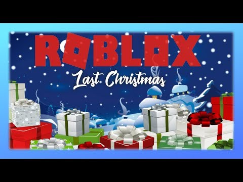 Last Christmas Roblox Music Video