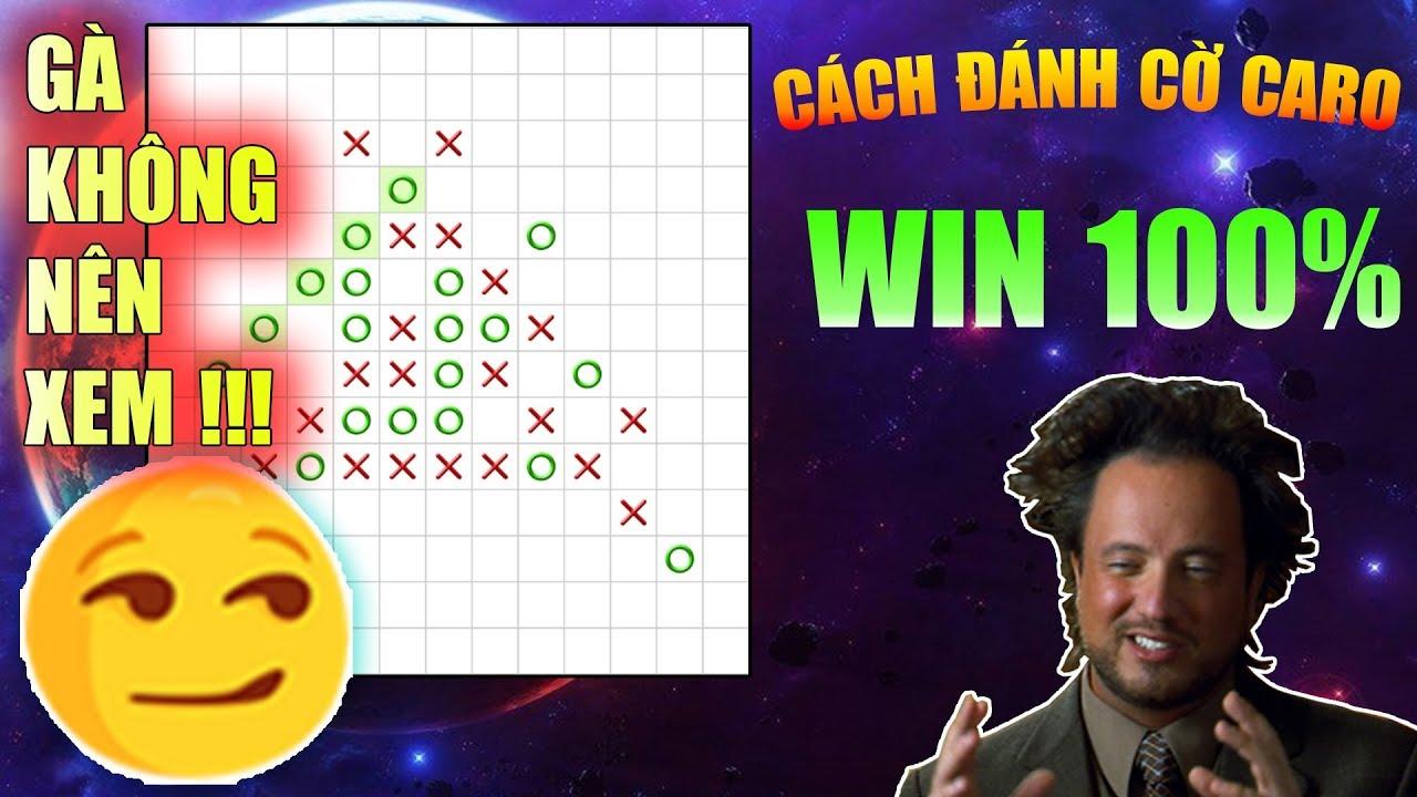 Cách chơi cờ caro win 100% với máy cấp độ master | CAROTV