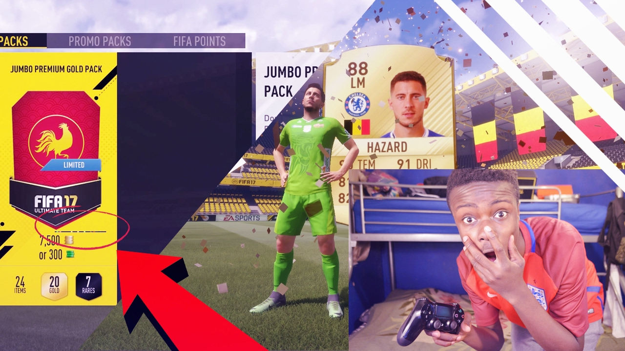 Trick To Pack Better Players In Fifa 17 Glitch Youtube