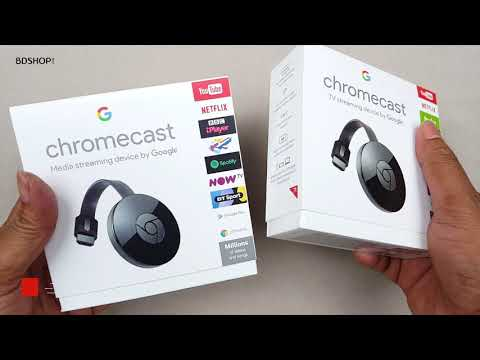 Google Chromecast 2 - Make any TV into Smart Internet TV (in Bangla)