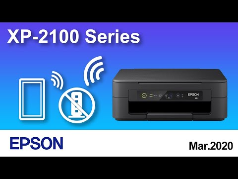 How to Connect a Printer Directly With Mobile/Smart Device (Epson XP-2100) NPD6466
