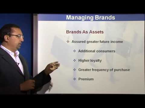 Marketing Management Lectures - Meaning and Importance of Branding