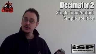 ISP Decimator 2 vs Decimator 2 G String