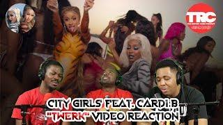 City Girls &quotTwerk&quot feat. Cardi B Music Video Reaction