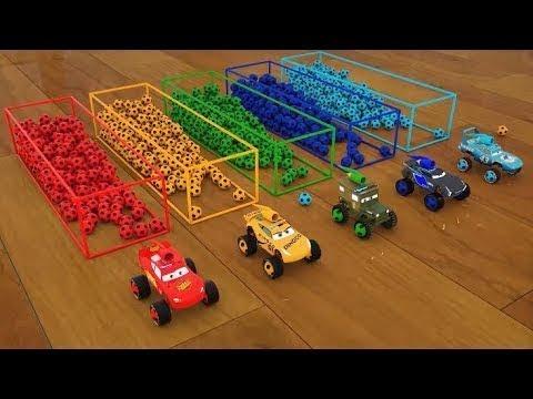 Download Aprendiendo colores, formas, pelotas, camiones y carros en inglés
