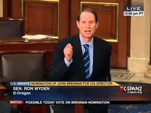 Sen. Ron Wyden Joins Rand Paul Filibuster: Drone Strikes Should Not Be Allowed Without Any Scrutiny