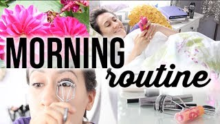 GRWM: My Summer 2014 Morning Routine! (Skincare, Makeup, Breakfast & More! | itsLyndsayRae Thumbnail