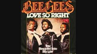 Watch Bee Gees Love So Right video