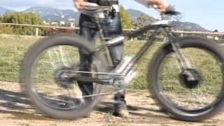 Fat bike electrique bi-moteur
