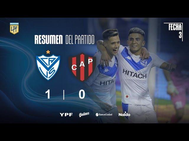 Copa Liga Profesional | Fecha 3 | resumen de Vélez - Patronato